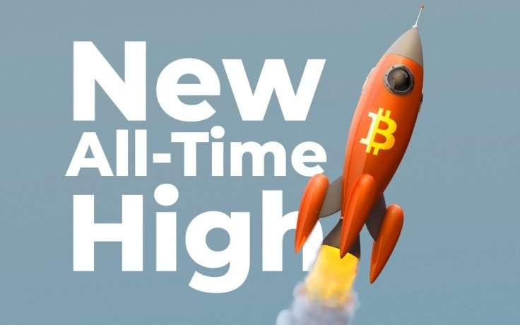 Bitcoin verkopen tijdens een ATH all time high?