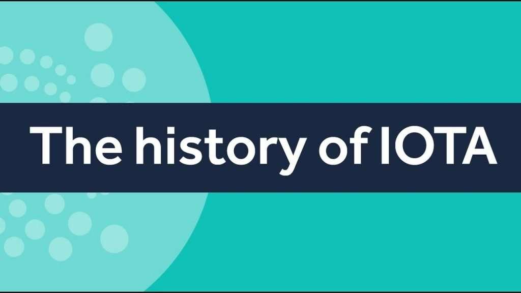 Iota coin geschiedenis