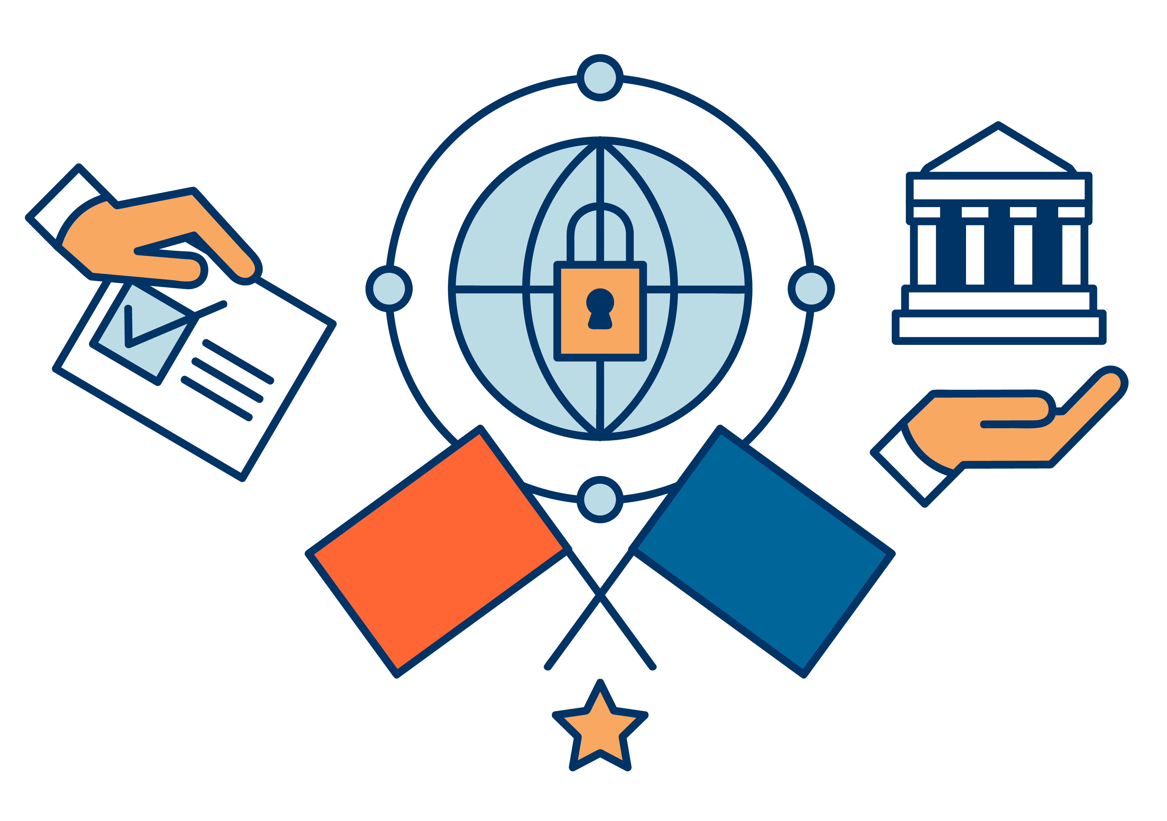 Stemmen doormiddel van blockchain technologie