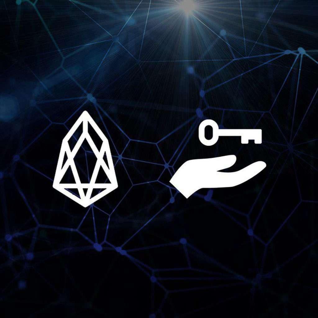 Welk algoritme gebruikt eos blockchain?