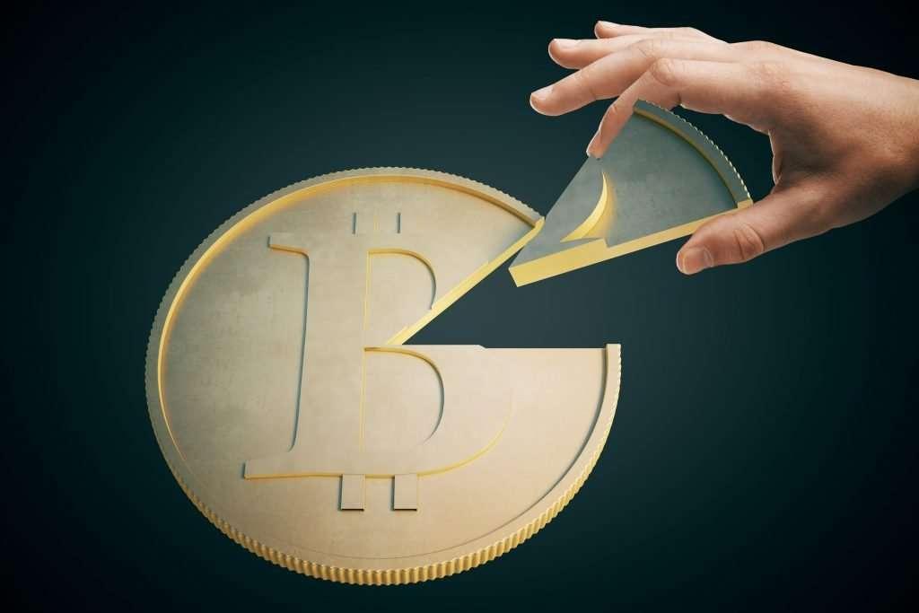 Klein stukje investeren in bitcoin