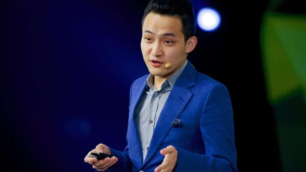 TRON oprichter Justin Sun