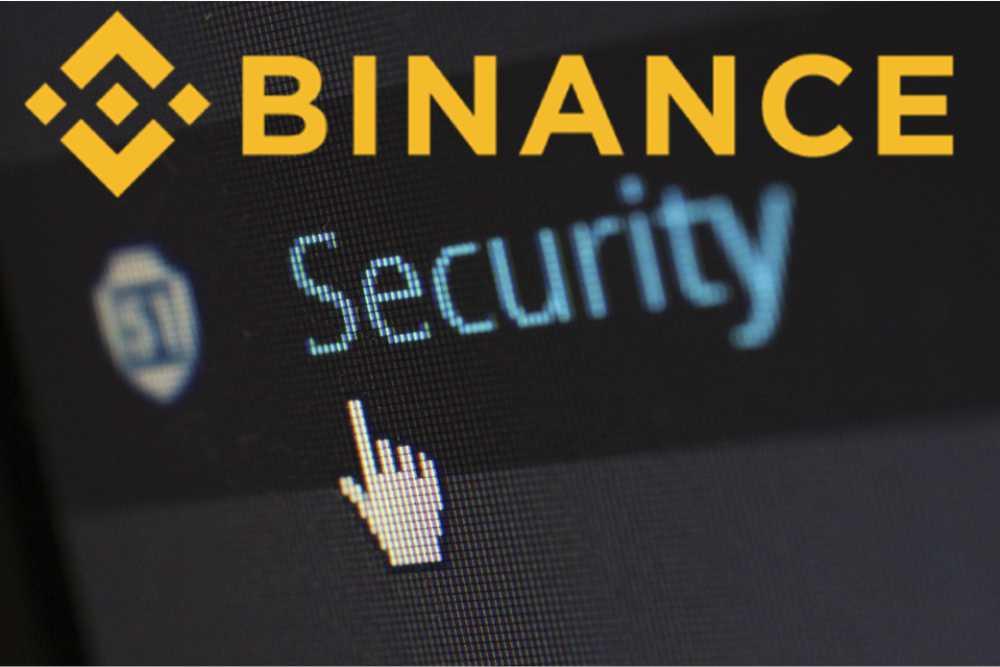 Account beveiligen van binance
