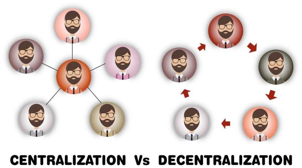 Wat betekent decentralisatie?