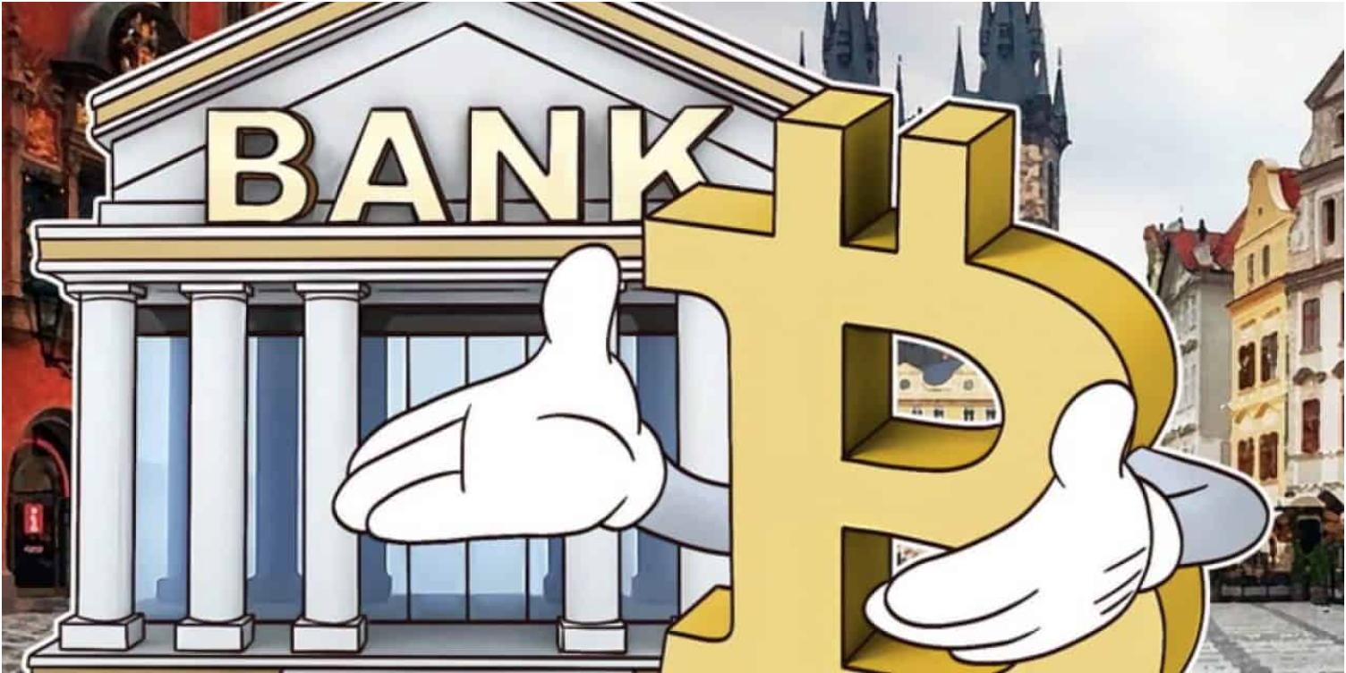 Bitcoin via bank