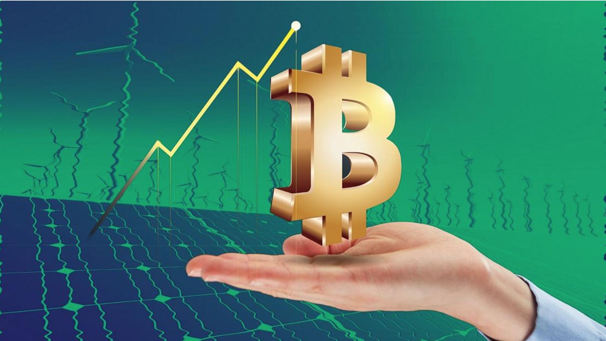 Groene Bitcoin