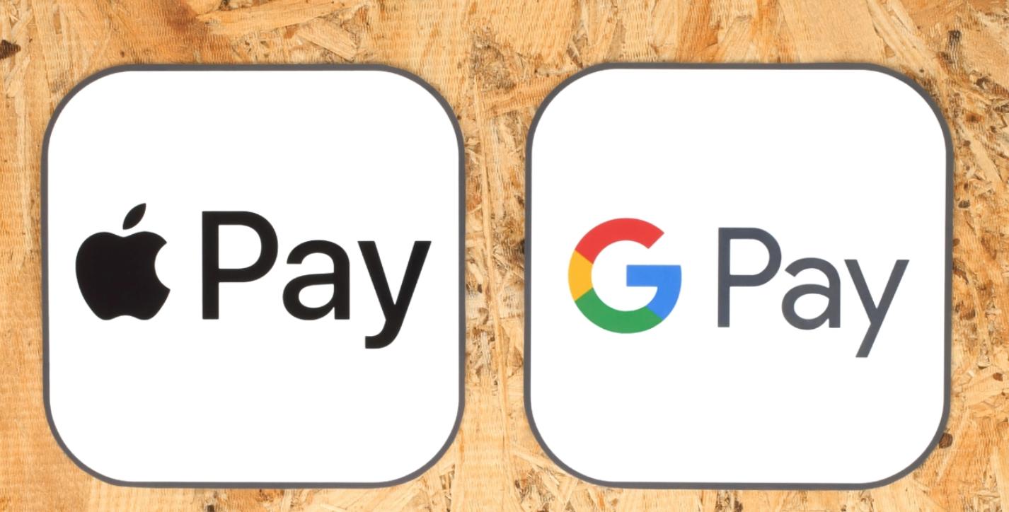 Crypto-betaalpas Google Pay Apple Pay