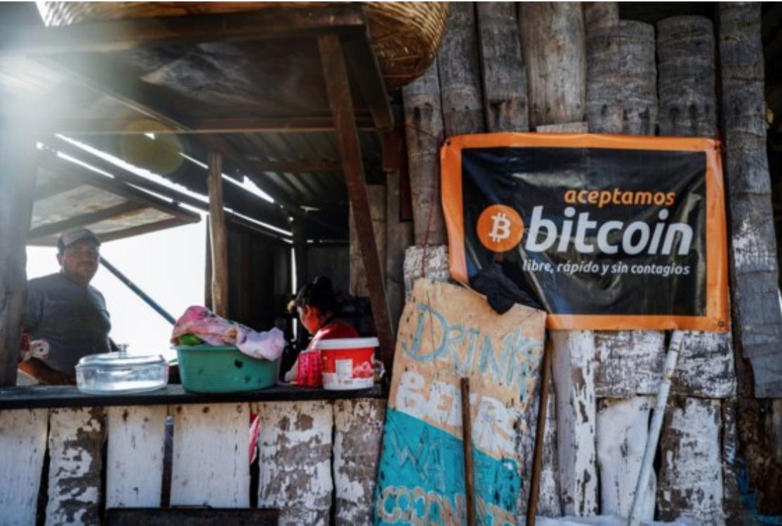 In El Salvador Bitcoin als wettelijk betaalmiddel