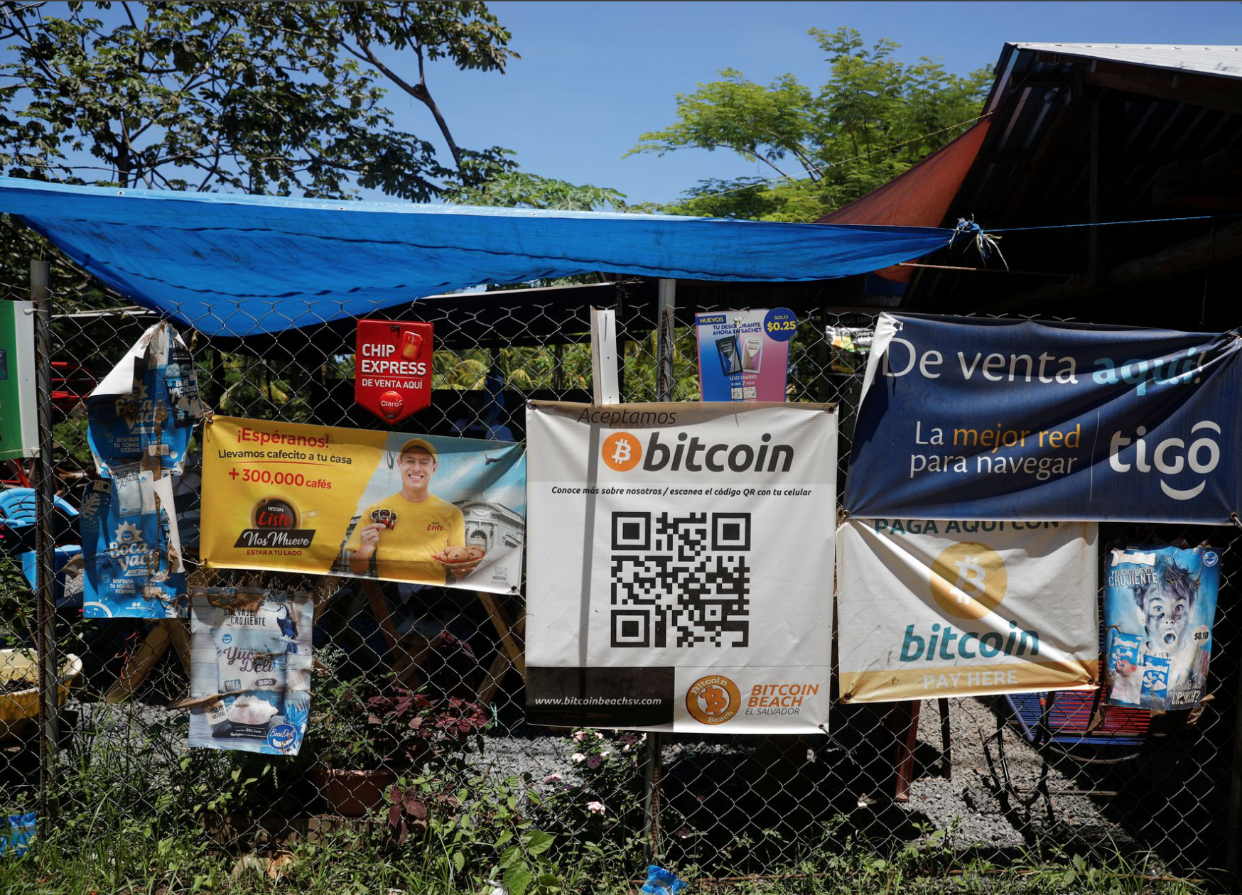 Verplichte Bitcoin acceptatie in Salvador