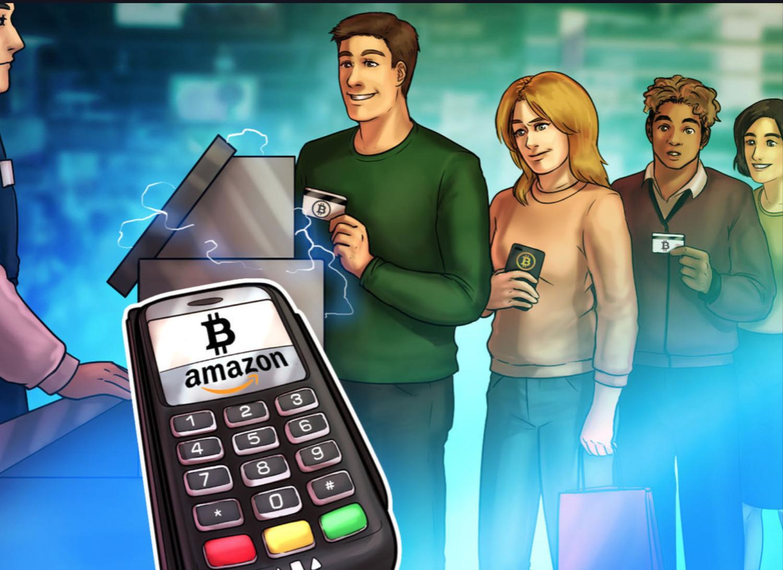 Amazon bitcoin betalingen.