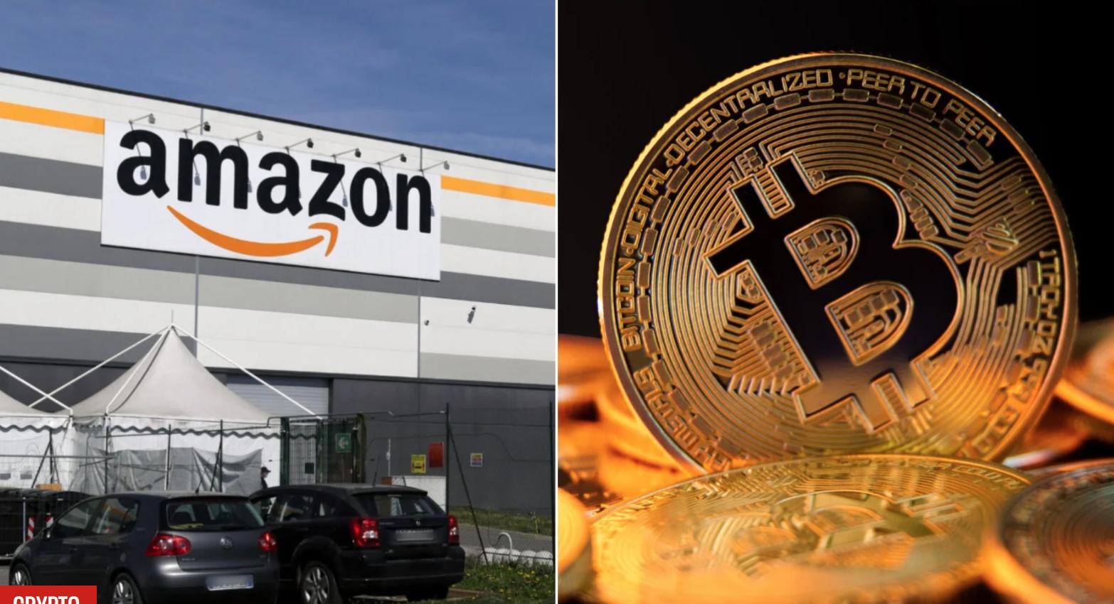 Bitcoin betalingen Amazon