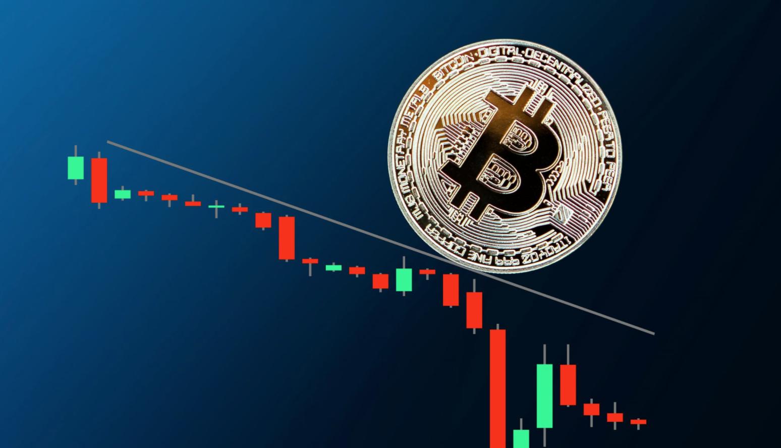 Bitcoin onder USD 30.000