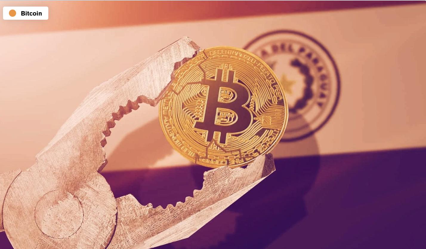 Bitcoin wetsvoorstel Paraguay