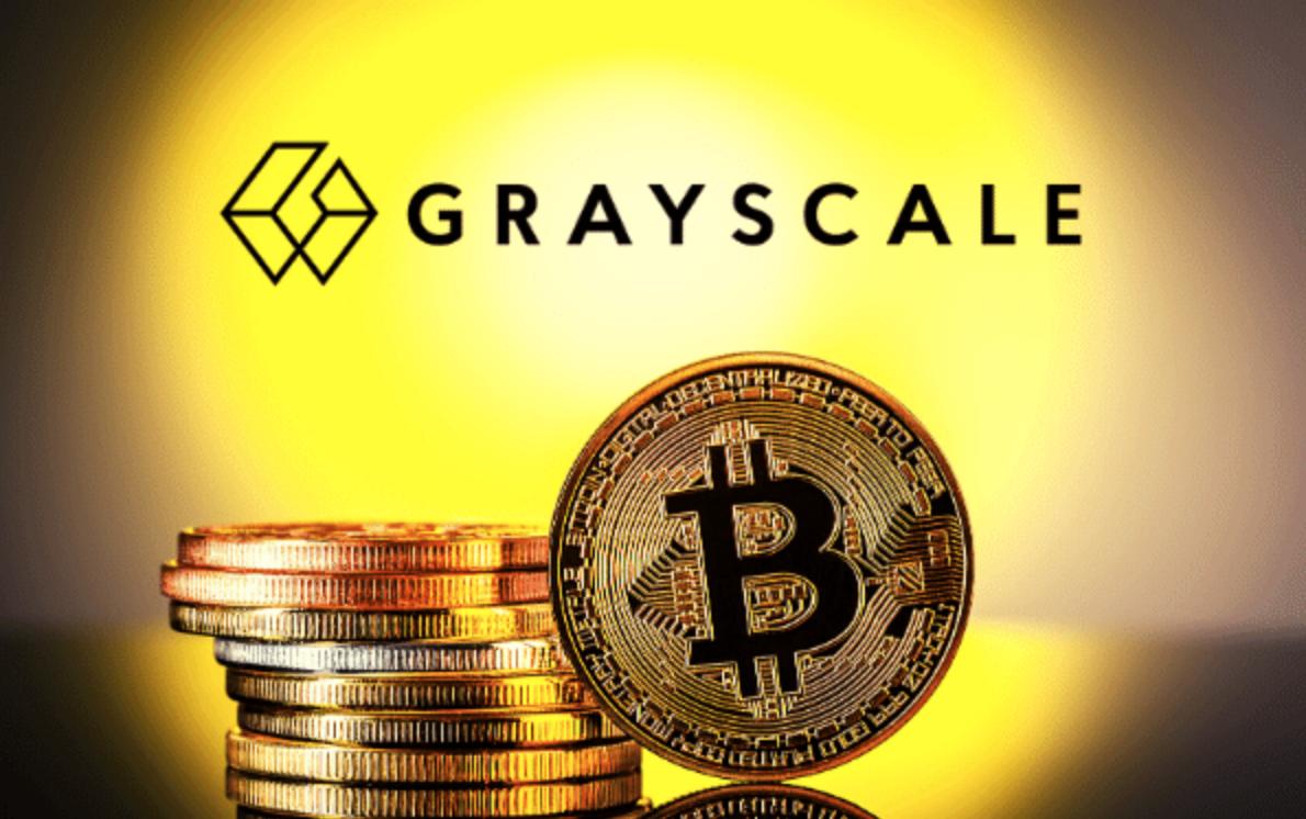 Grayscale Bitcoin aandelen.
