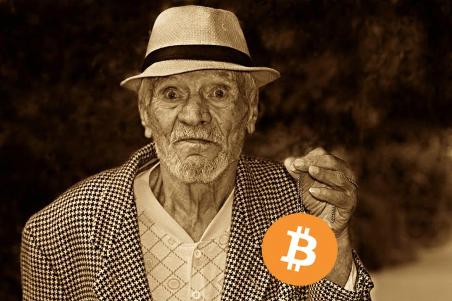 Oude Bitcoin bezitter ontwaakt