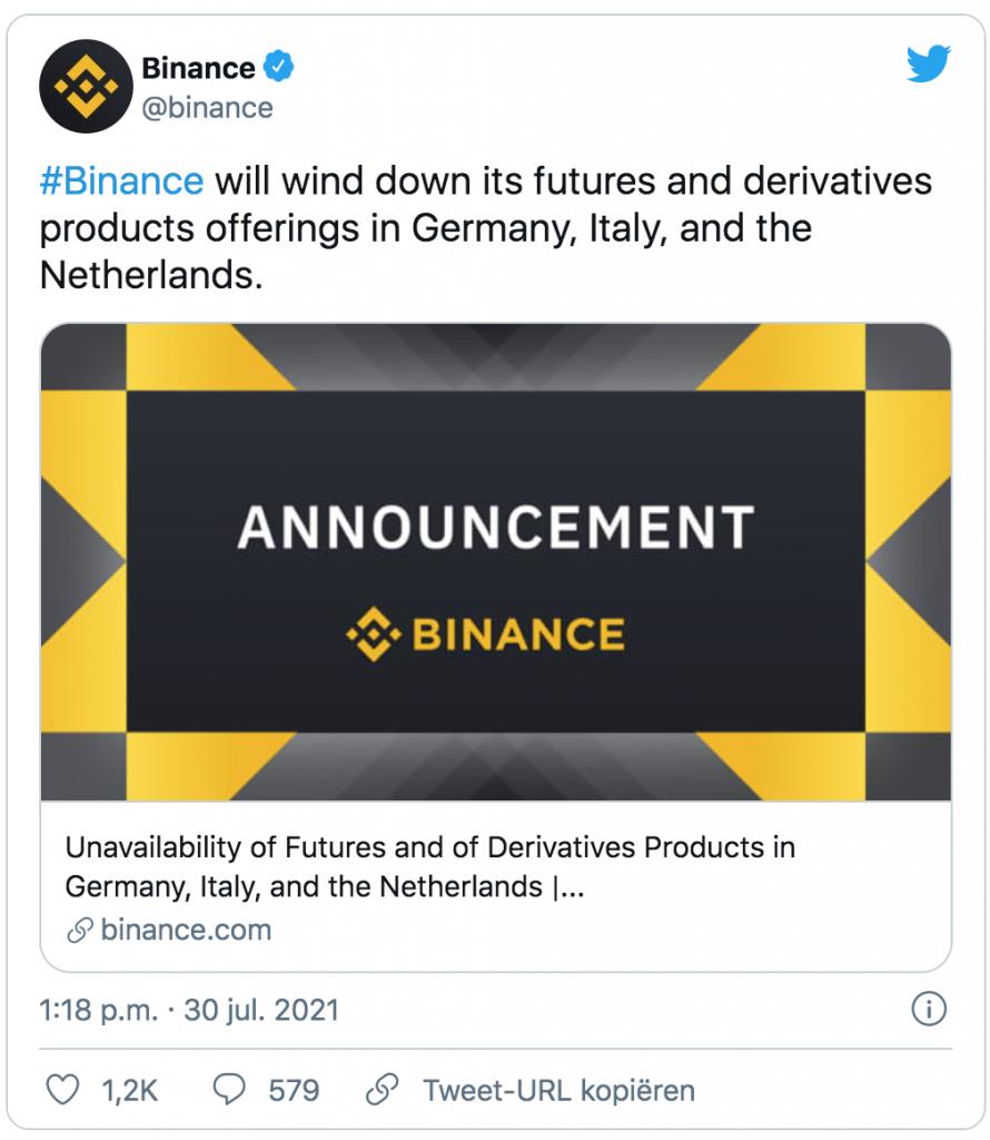 Bitcoin futures announcement