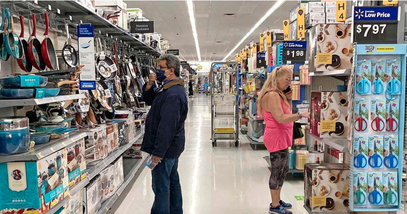Crypto-betalingen Walmart