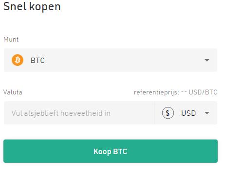 Crypto kopen bij kucoin