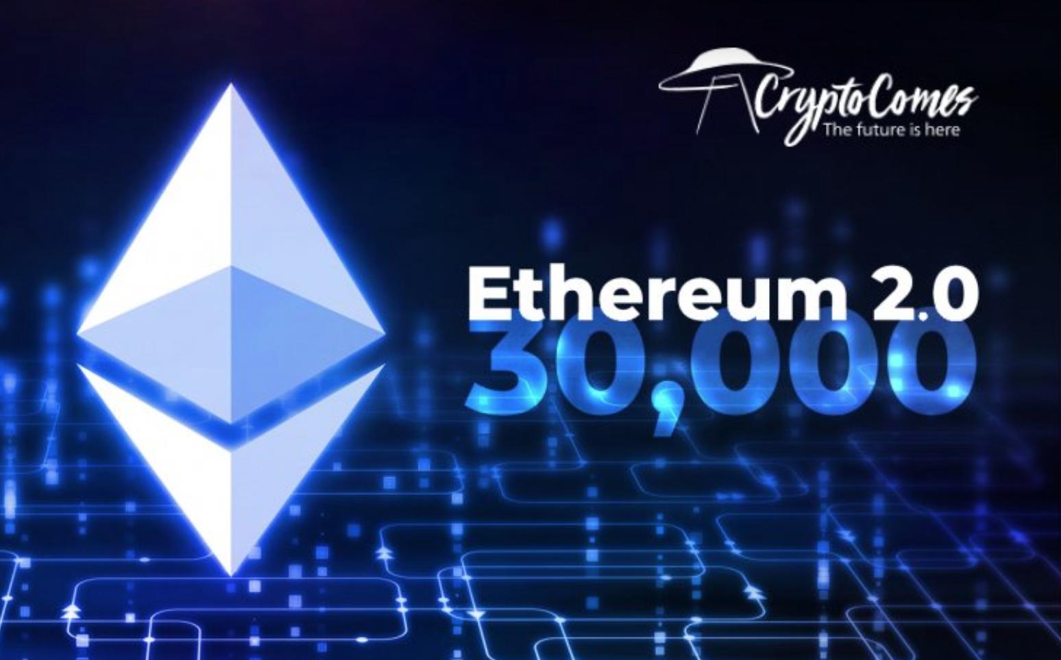 Ethereum koers naar 30000