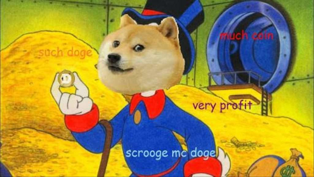 doge crypto meme