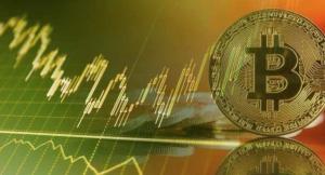 Bitcoin bull flag.