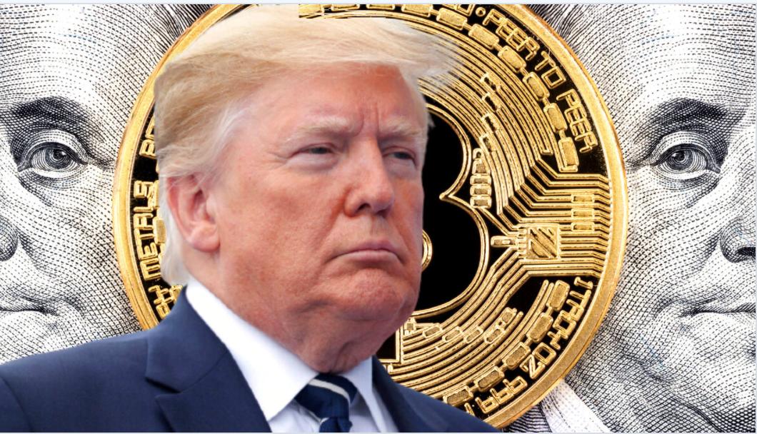 Trump over crypto