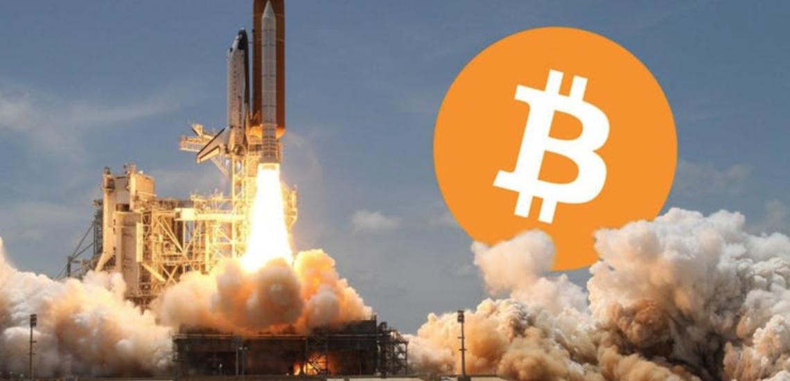Bitcoin prijs USD 40000