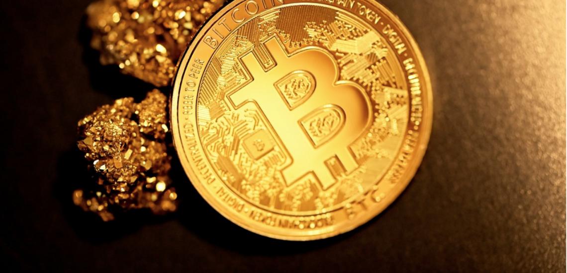 Bitcoin vervangt goud